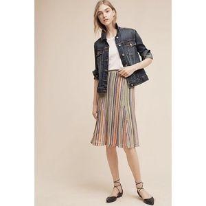 NWT Anthropologie Maeve Spectral Skirt M